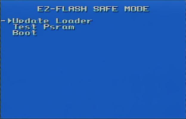 EZ Flash Omega Recovery