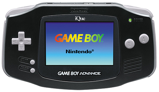 iQue Game Boy Advance Black