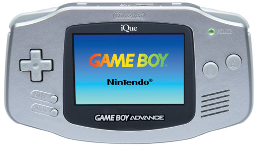 iQue Game Boy Advance Silver