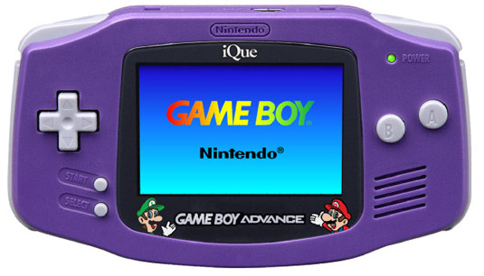 iQue Game Boy Advance Mario