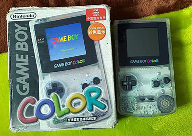 Game Boy Color Audley Limited